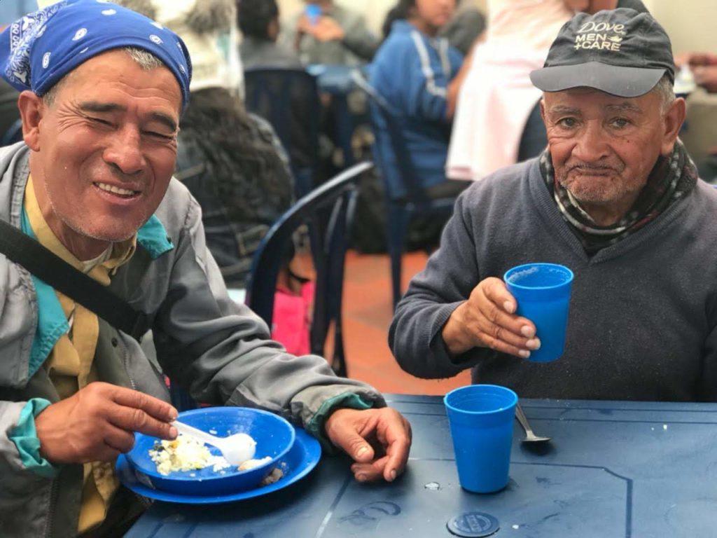Abuelitos - Señores Almuerzo